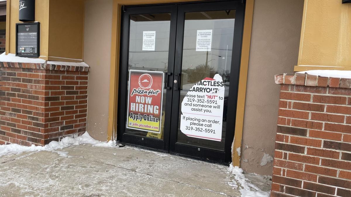 Signs on the door