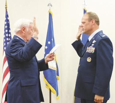 General from Oelwein presides over Air Force promotion