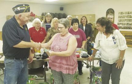 Legion donates to IVH-Marshalltown