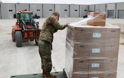 Delivering PPE