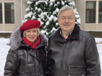 Branstad and wife