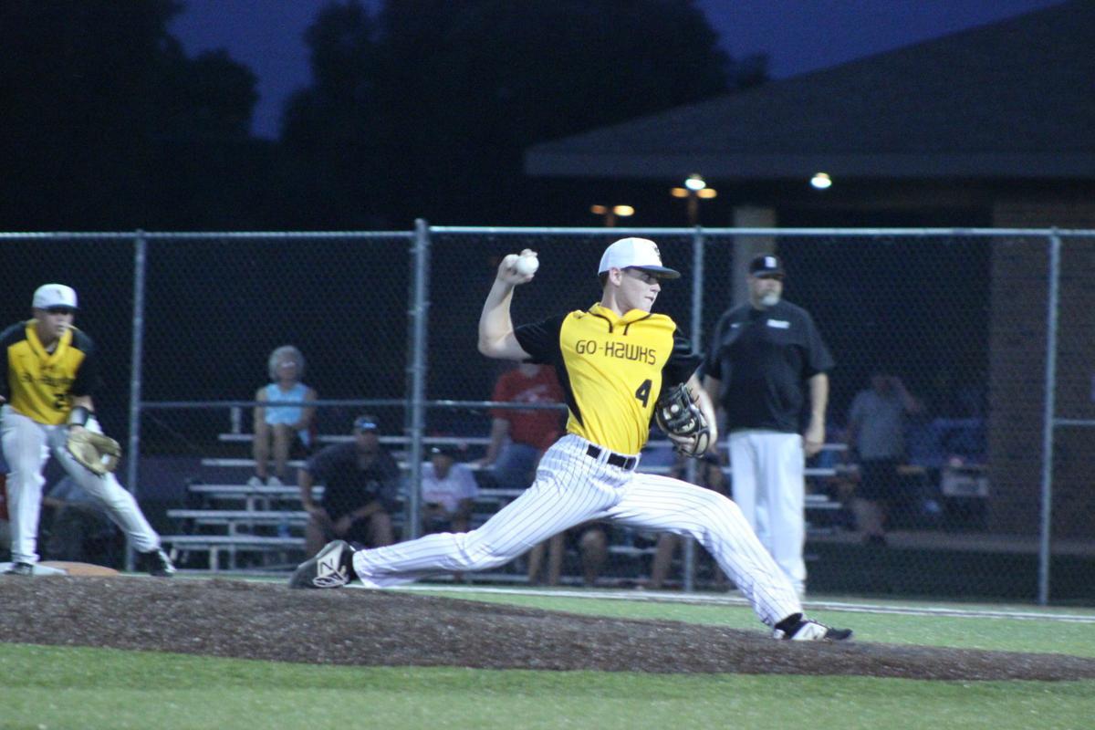 Leonard pitching Baseball 7-19-19