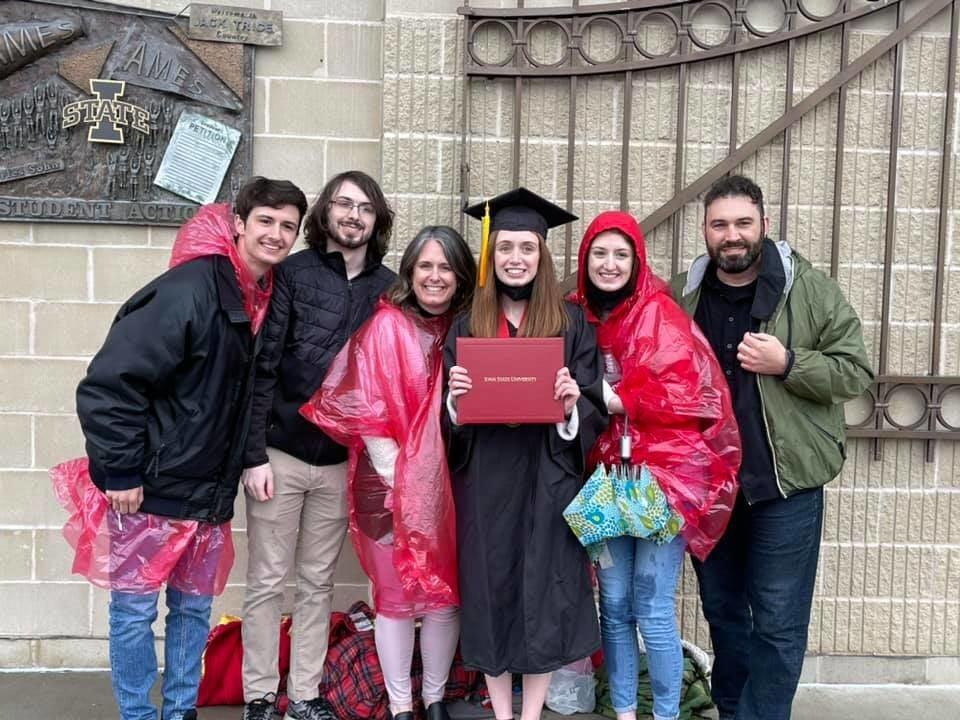 Kleins at ISU Graduation 2021.jpg