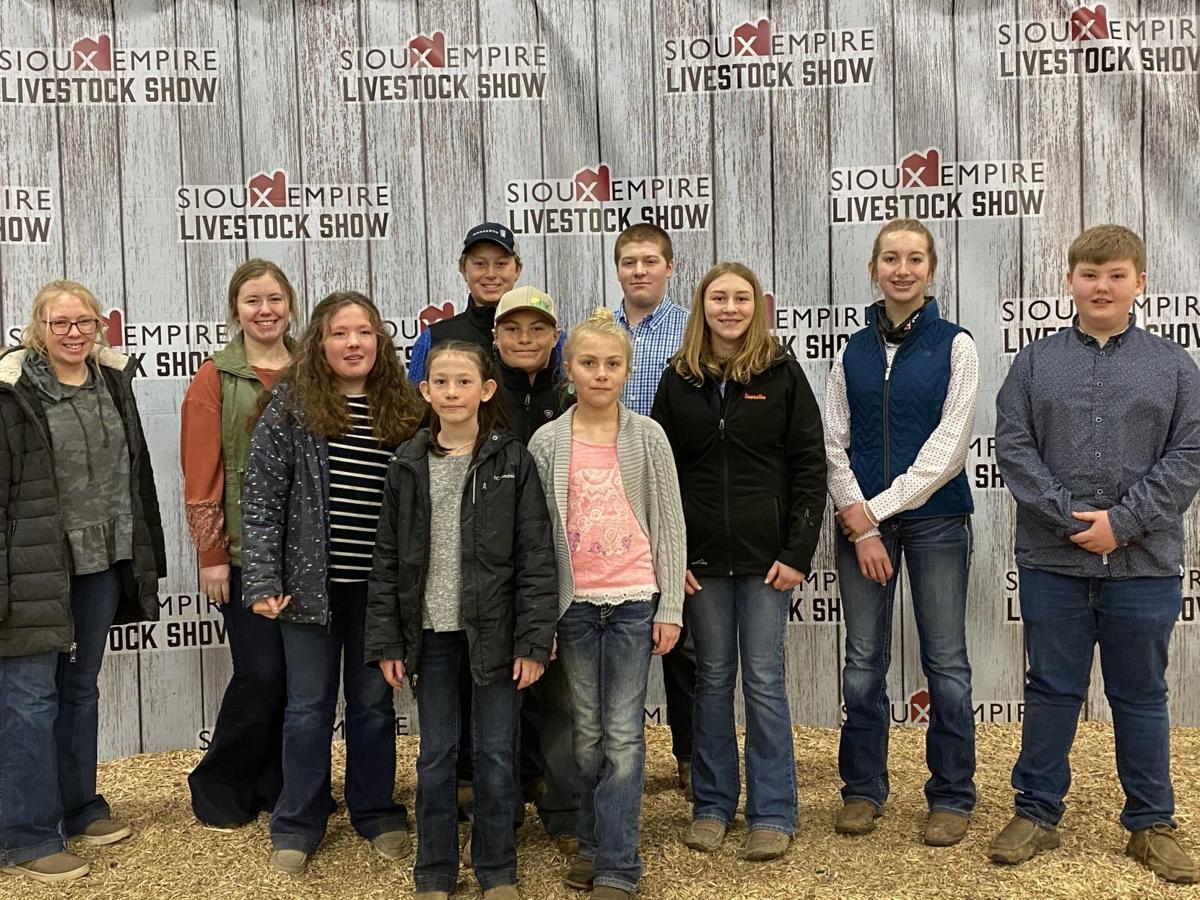 Benton County 4-H Livestock Judging Team