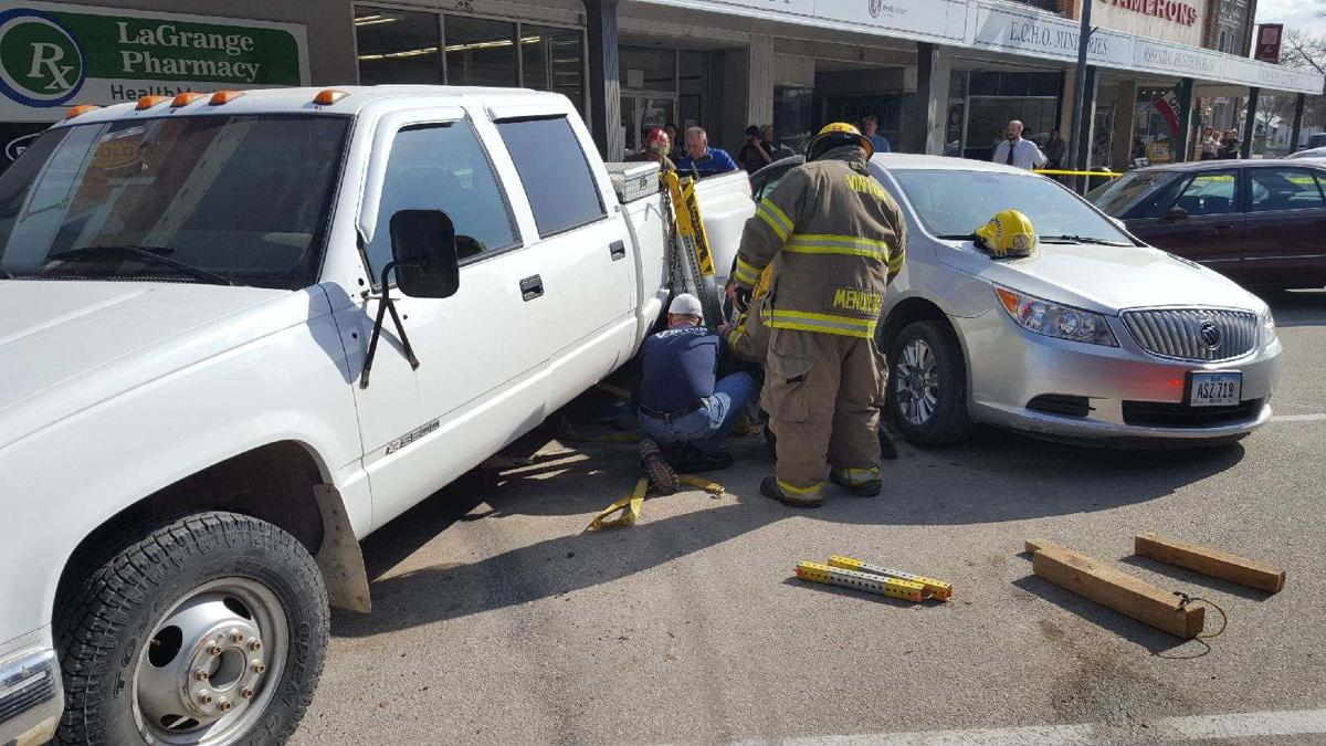 Man freed from beneath truck after morning accident | Vinton