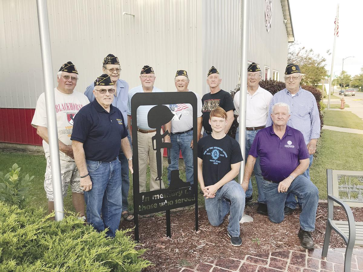 West Central teen crafts unique artwork for area veterans