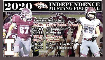 Mustang football schedule