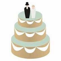 Couple on cake