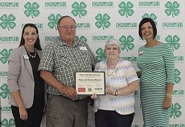 Mauers honored