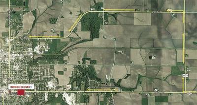 Melone Creek Detour Map