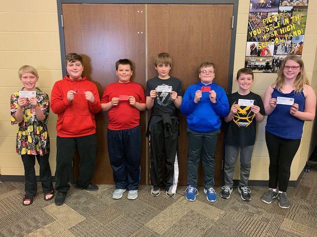 Sixth-grade Blizzard Challenge winners