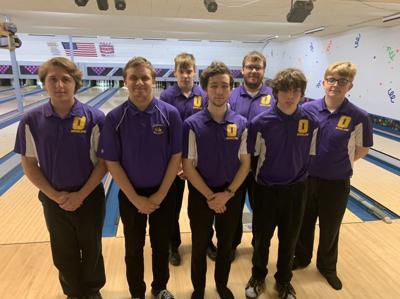 Oelwein boys varsity on Jan. 14, 2020