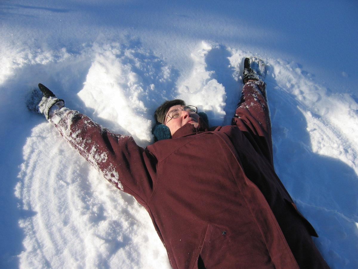 Ahhhh Snow Angel