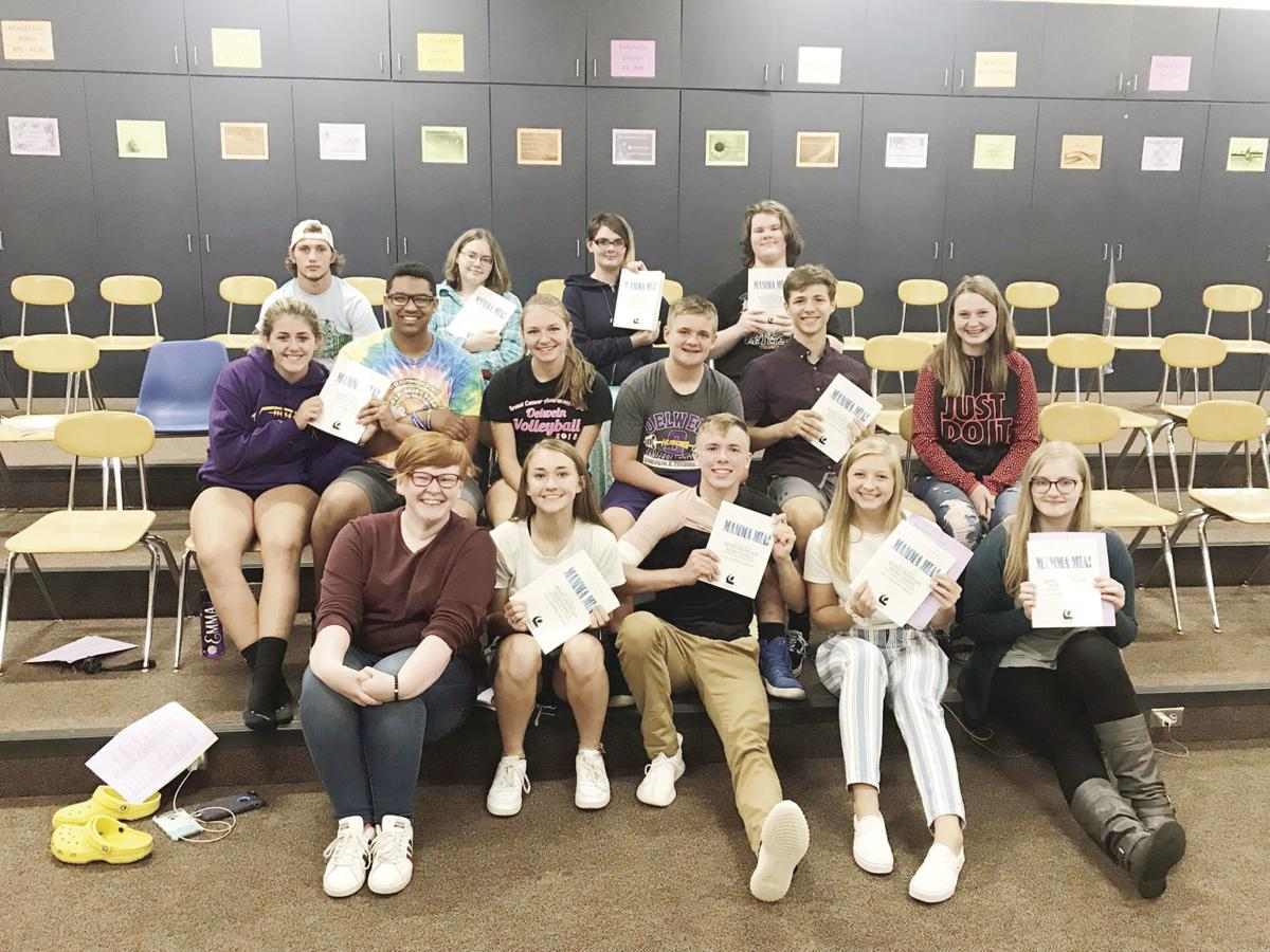 Oelwein High School to present 'Mamma Mia!' for their fall musical
