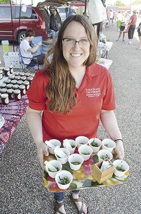 Sarah Kielly Asparagus Cups