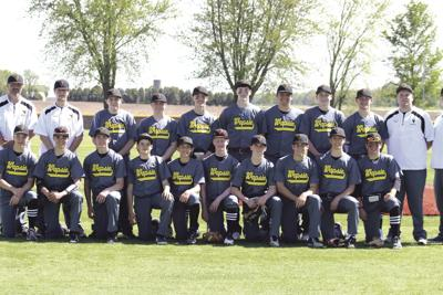 Wapsie Valley baseball team on a mission