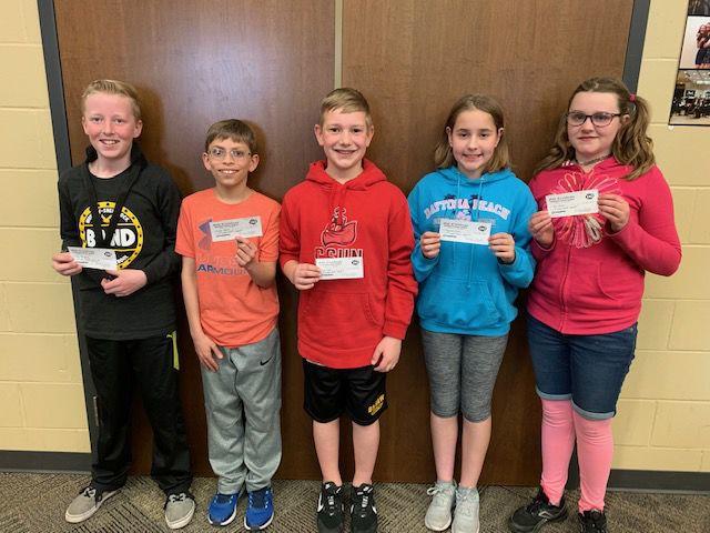 Fifth-grade Blizzard Challenge winners