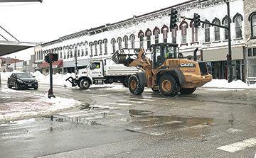 City snow removal