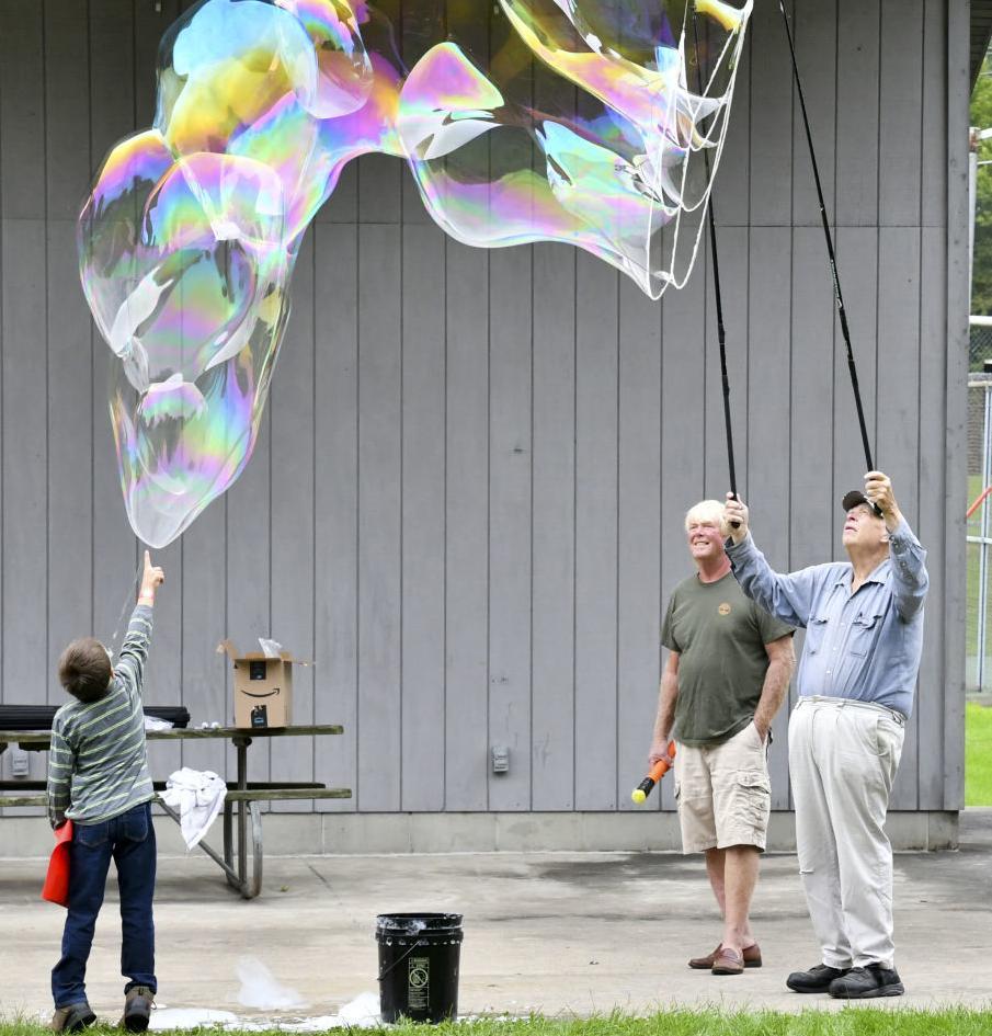 Ready to burst the bubble