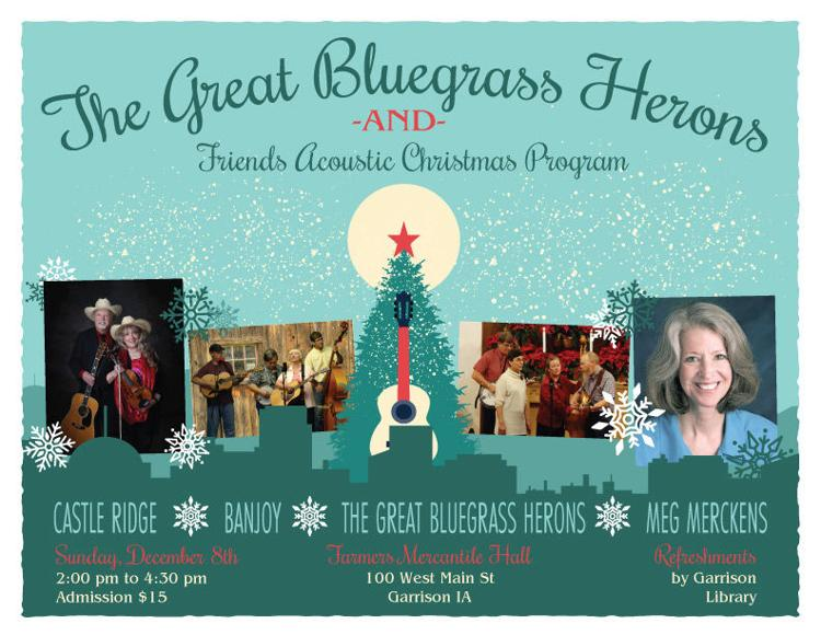 The Great Bluegrass Herons and Friends Acoustic Christmas Program
