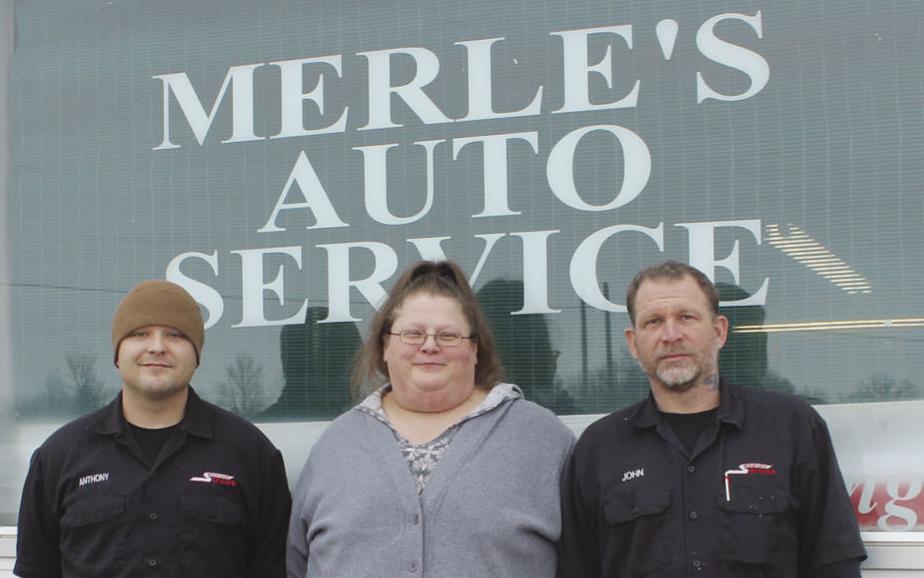 Merle's Auto Service staff photo