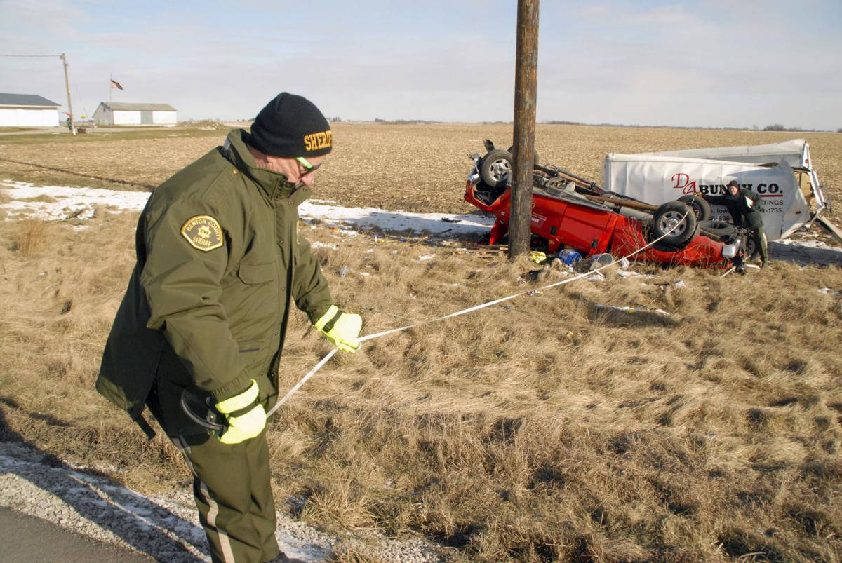 Three escape serious injury as truck, small trailer flip ...