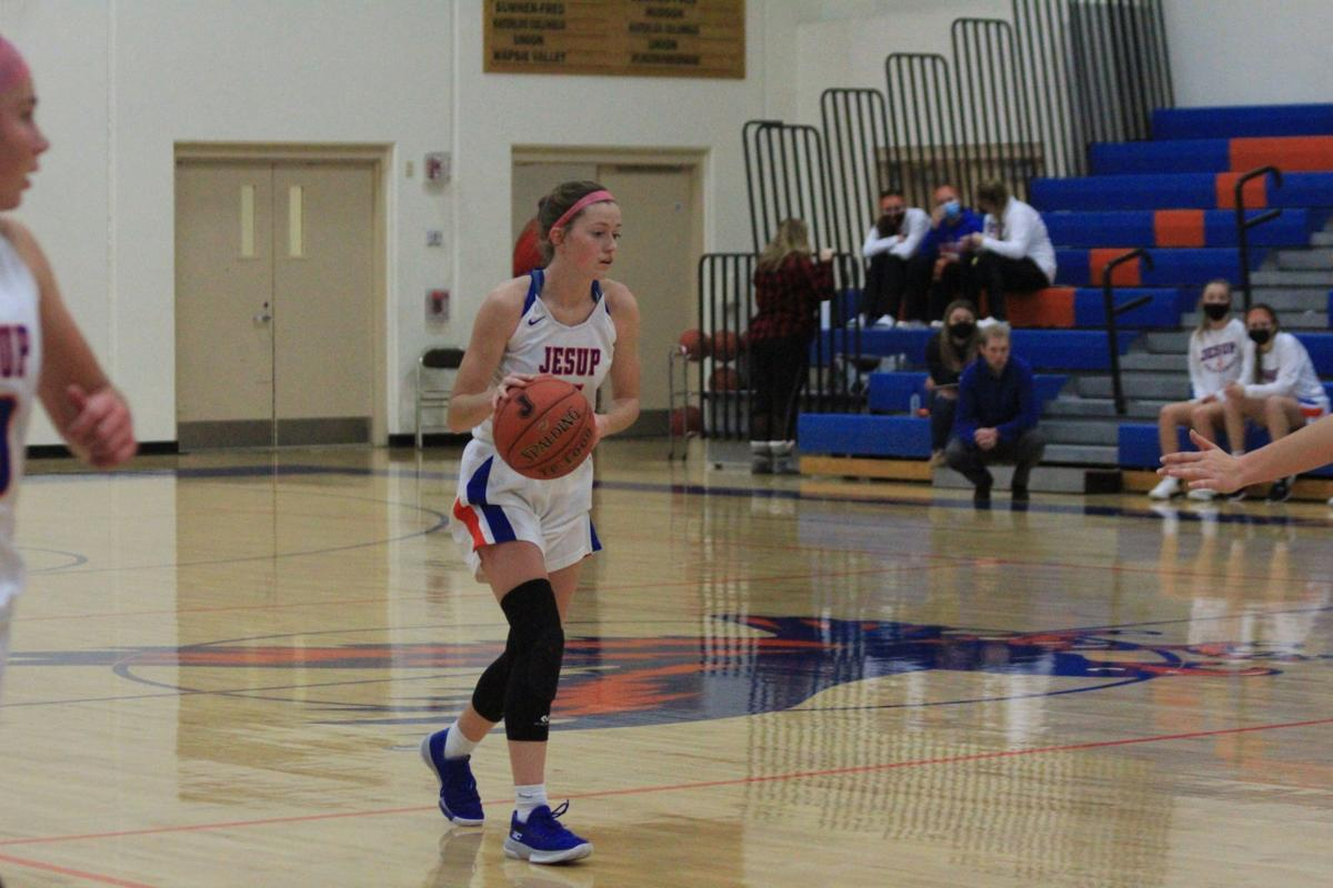 Jesup gbb Amanda Treptow all-conference 031021