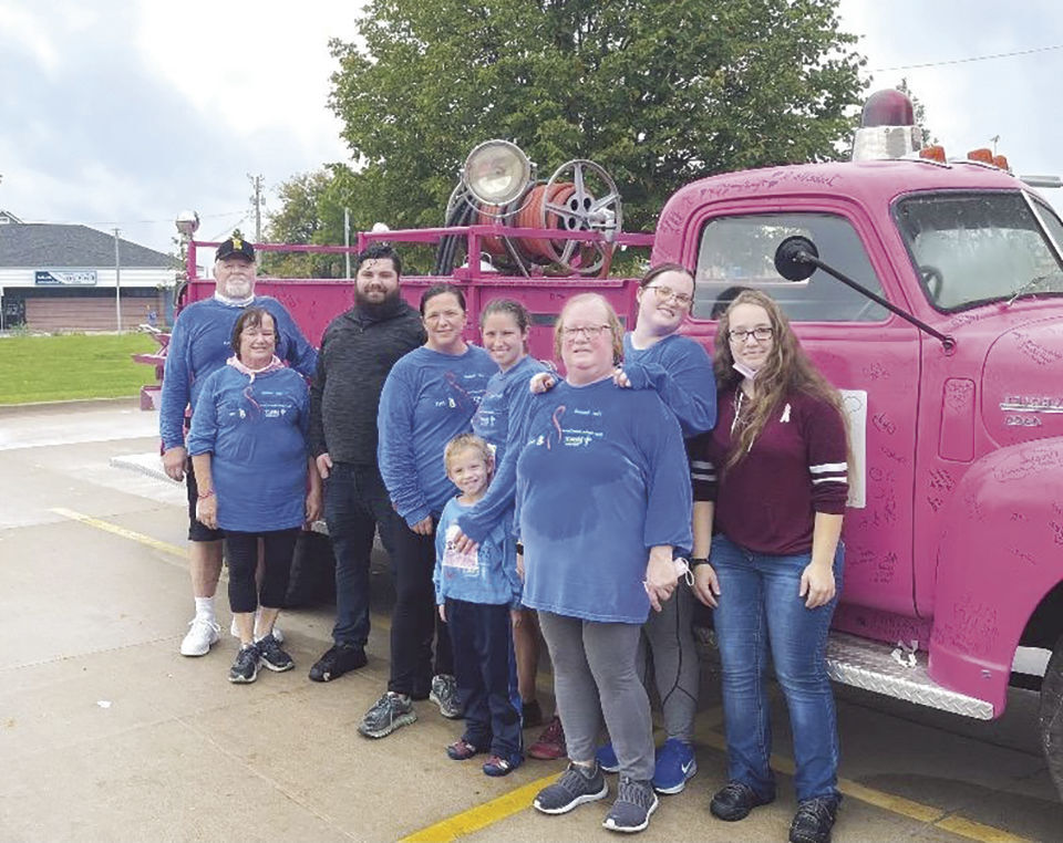 Oelwein woman thankful for early detection through annual mammogram