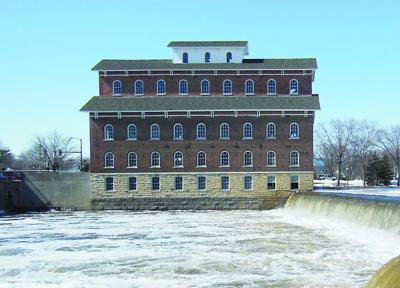 The Wapsipinicon Mill last spring