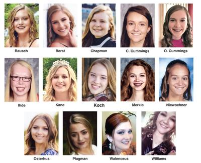 Fayette County Fair Queen Candidates