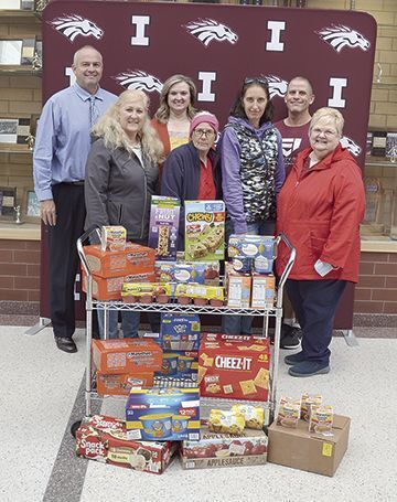 Auxiliary donation to Champ's Cupboard