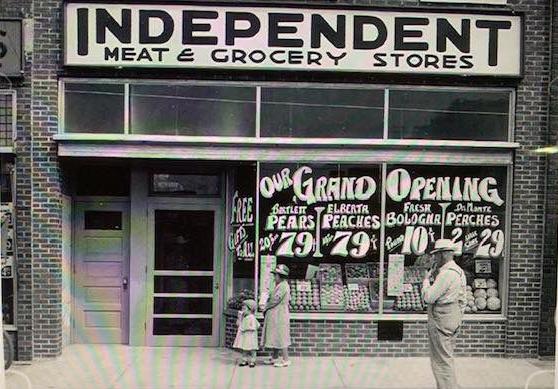 Historic photo of store