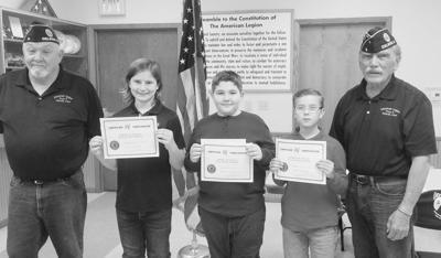 Flag Essay winners