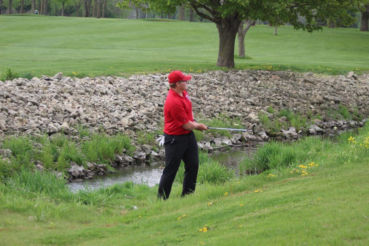 EB boys golf Trey Johnson 050521