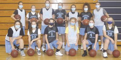 2020-21 NFV Girls Basketball Team