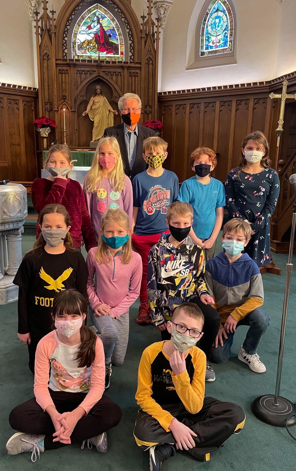 St. Paul's students