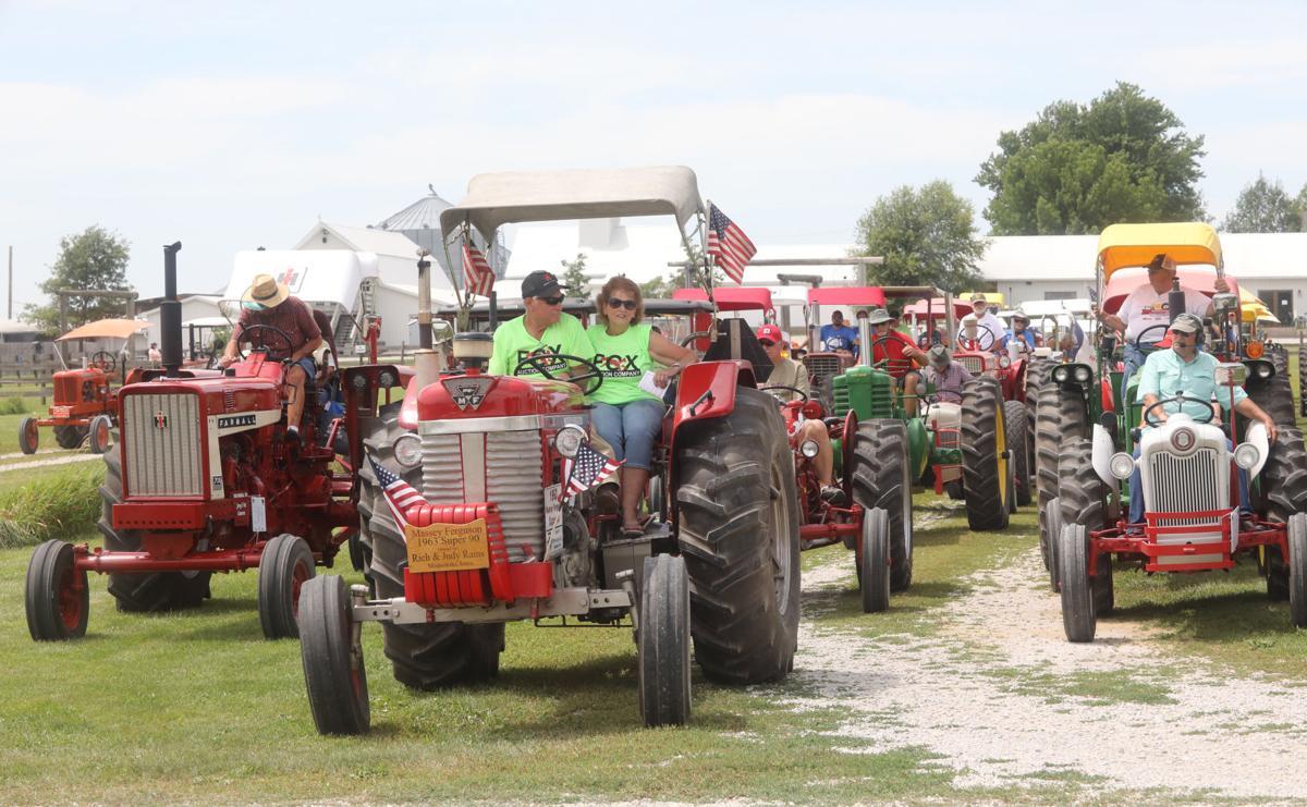 North Iowa Tractor Ride 1