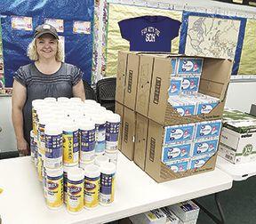Salvation Army School Supplies Dietzenbach