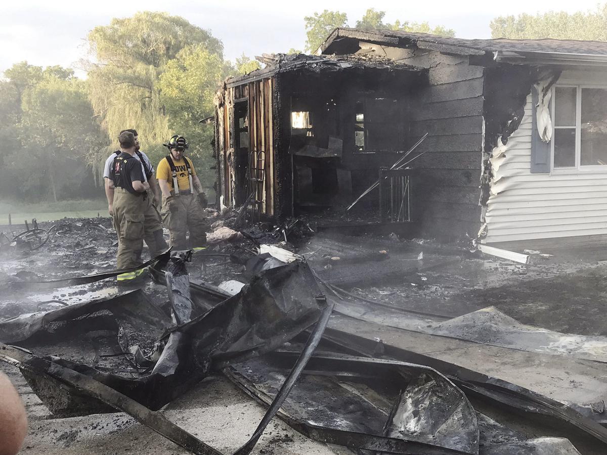 Saturday house fire in Oelwein
