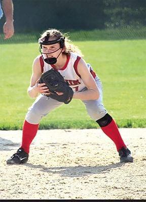 Olivia Donlea softball