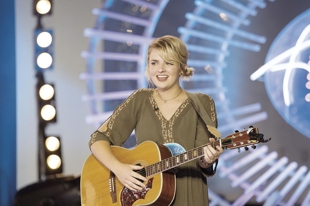 Maddie Poppe auditions for 'American Idol'