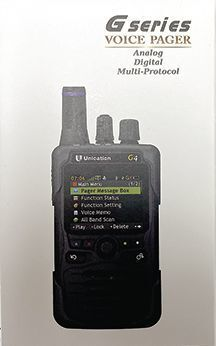 Voice pager closeup