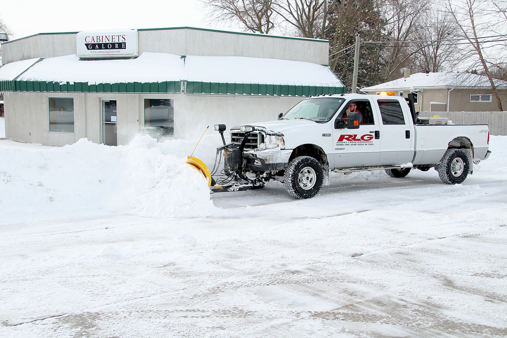 Reiter Plows At Cabinets Galore Waverly Newspapers Communitynewspapergroup  Com