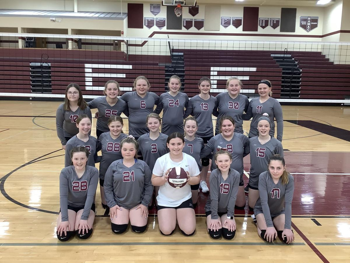 Indee volleyball 6th grade 042121