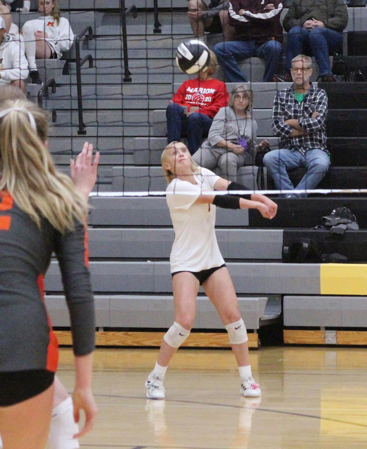 Indee volleyball Dakota Whitman 101321