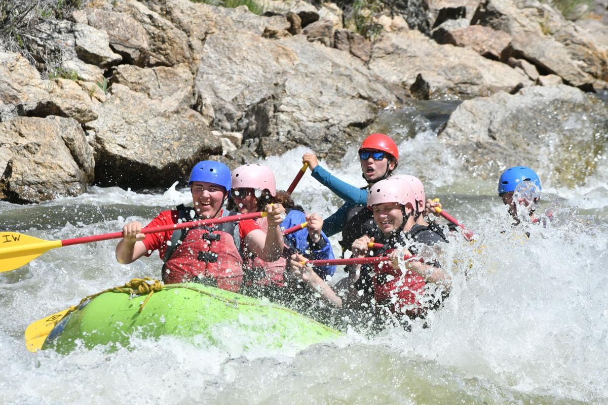 Day 1 Rafting - Brad's H&F