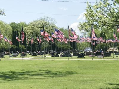 Flags at Woodlawn