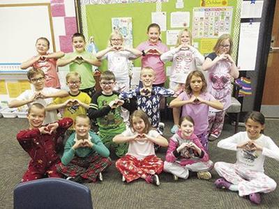 Mrs. Pink's third graders