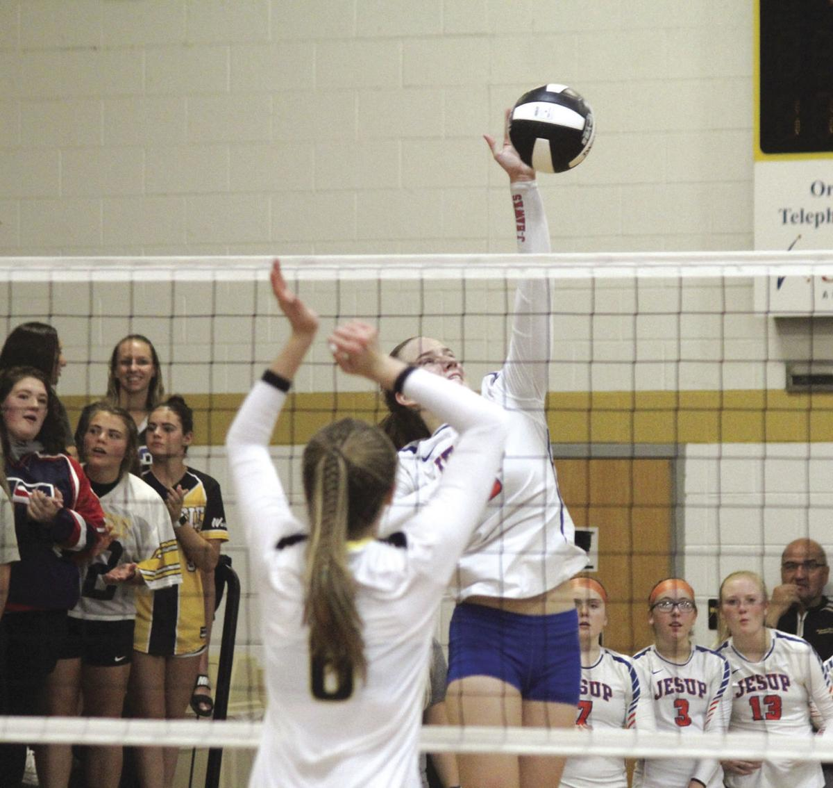 Wapsie Valley defeats Jesup in conference match