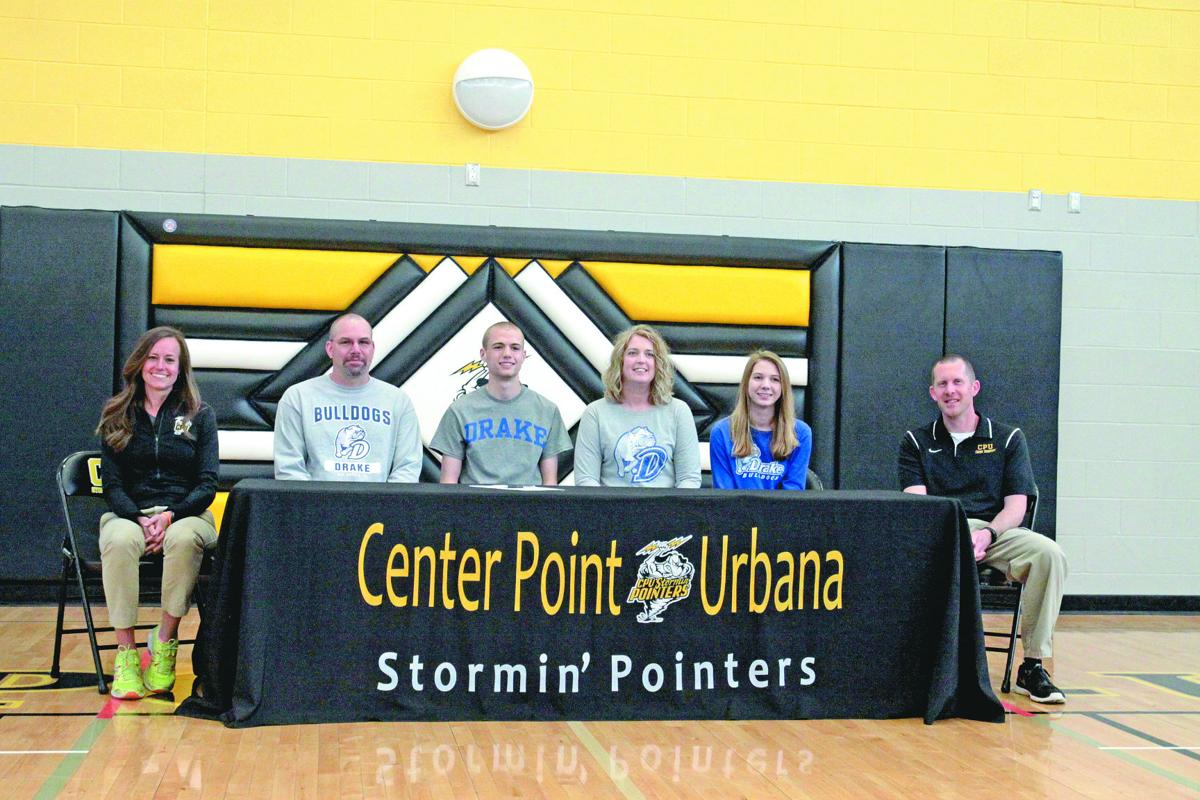 Cp u s yeager signs with drake university sports for Laporte city police
